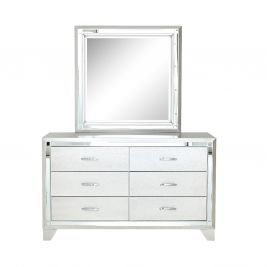 Palatial Dresser with Mirror